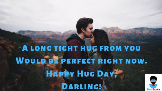 Hug Day 2019 Wishes