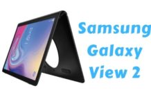 Samsung Galaxy View 2 Leaked