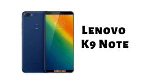 Lenovo K9 Note