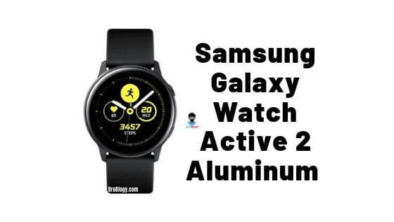 Samsung Galaxy Watch Active 2 Aluminum