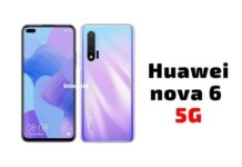Huawei nova 6 5G Pros and Cons