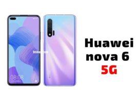 Huawei nova 6 5G Pros and Cons