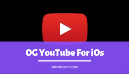 OG YouTube iOS | OG YouTube For iPhone | OG YouTube For iOS