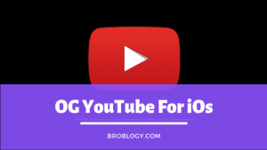 OG YouTube iOS