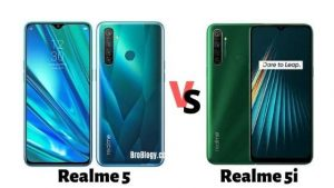 Compare Realme 5i vs Realme 5