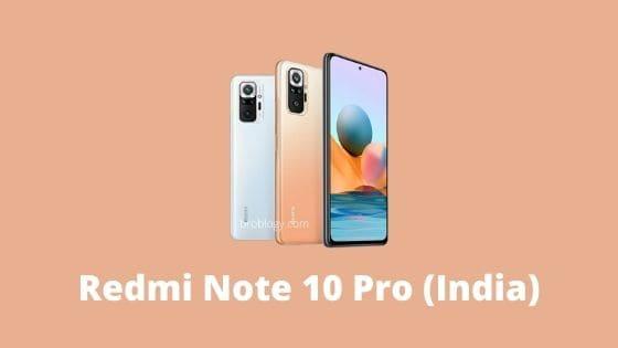 Redmi Note 10 Pro (India)